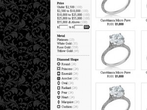 Custom Jewelry Magento shop