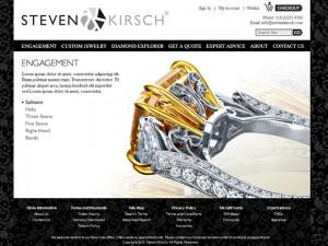 Custom jewelery ecommerce site