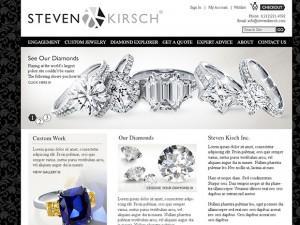 Magento jewelery web store