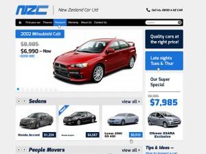 Car dealers Magento website