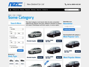 Car dealers Magento store