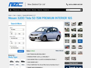 Car dealers Magento web shop