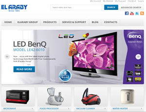 Electronics Magento online shop