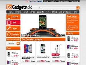 Magento gadgets ecommerce site