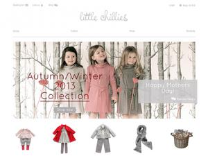 Children clothes Magento online shop