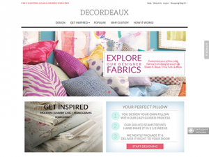 Custom pillows Magento webshop