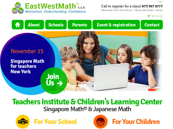 Teachers Institute Wordpress website