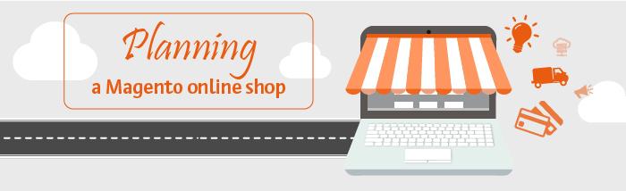 online shop planning