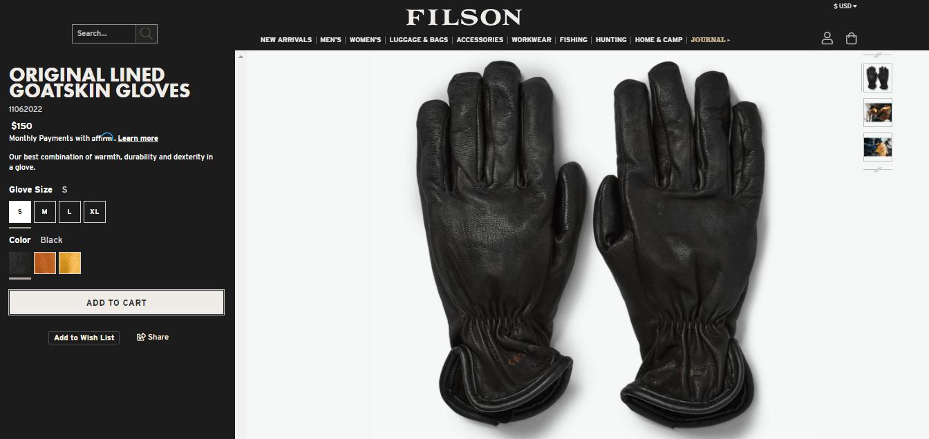 Filson Product Image