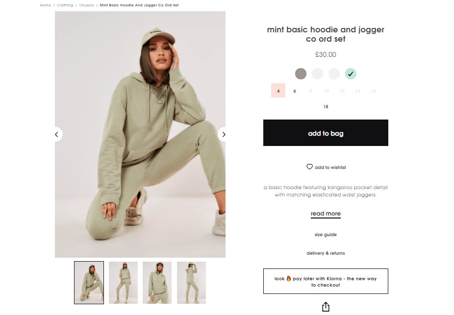 Missguided Pay Later
