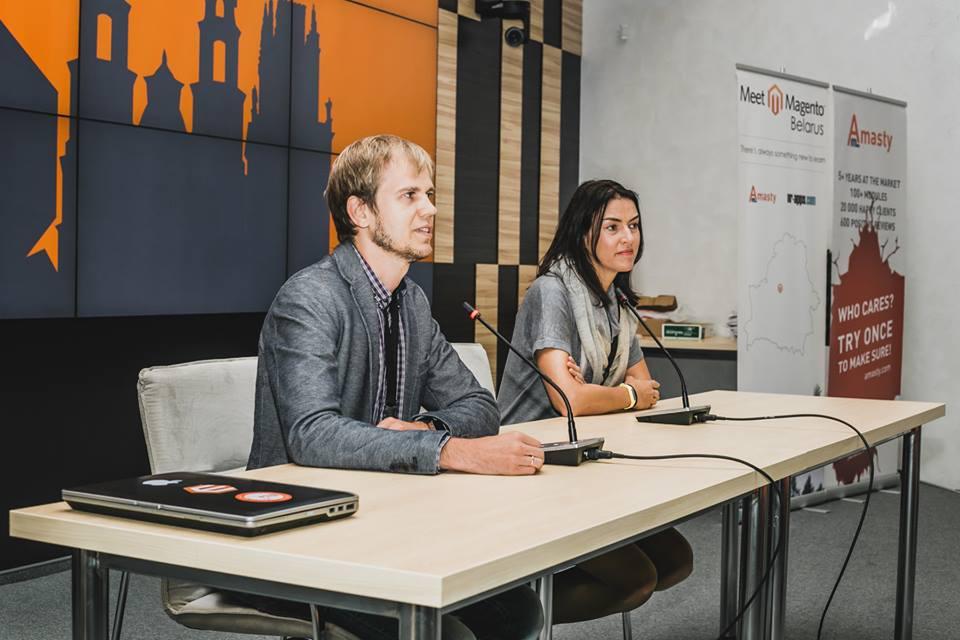 Magento representatives Meet Magento Belarus 2015
