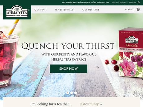 Magento Online Shop for Teas