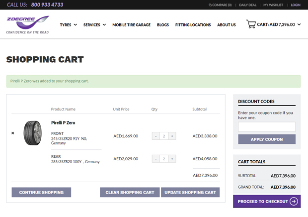 myzdegree_shopping_cart