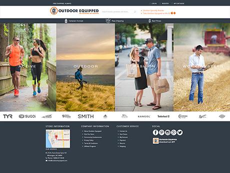 Sportwear Magento Site