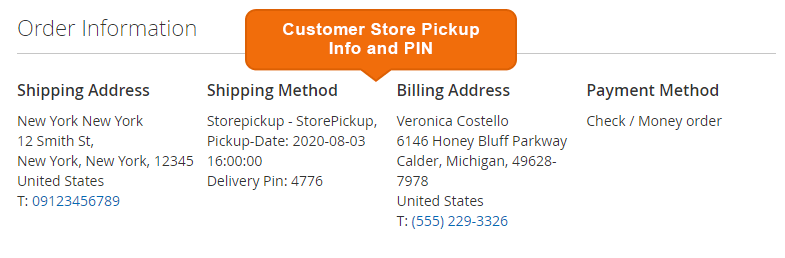 Magento 2 Store Pickup extension by MageDelight