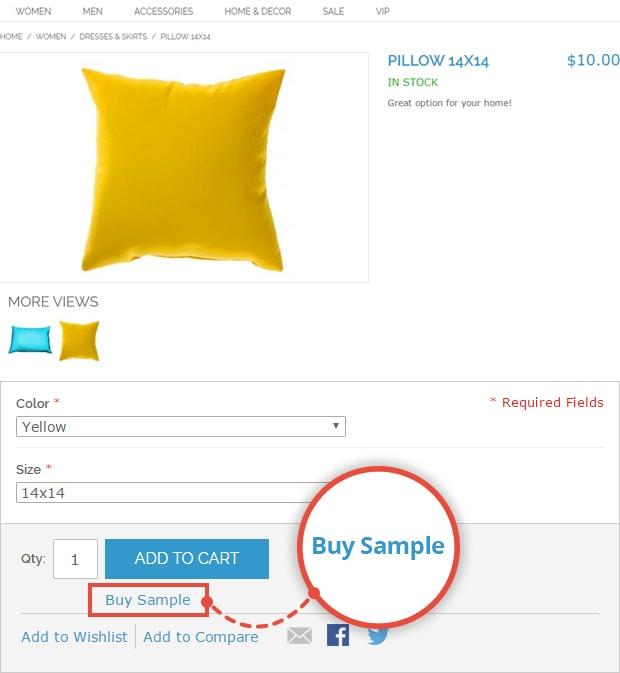 Buy Sample option