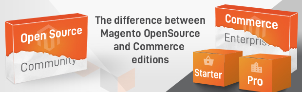 The Difference between Magento OpenSource and Magento Commerce editions photo