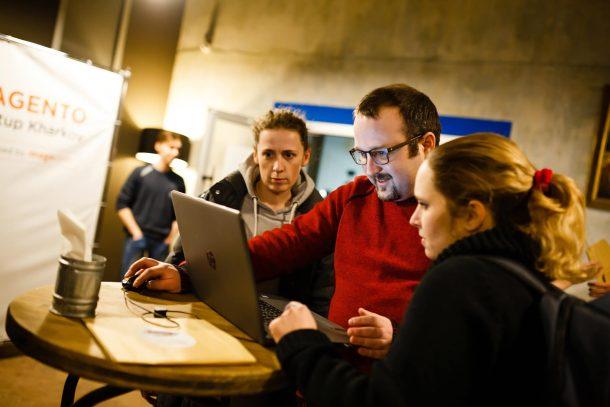 Magento Meetup Kharkiv 2 developers