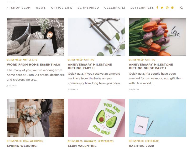 Elum Designs Blog