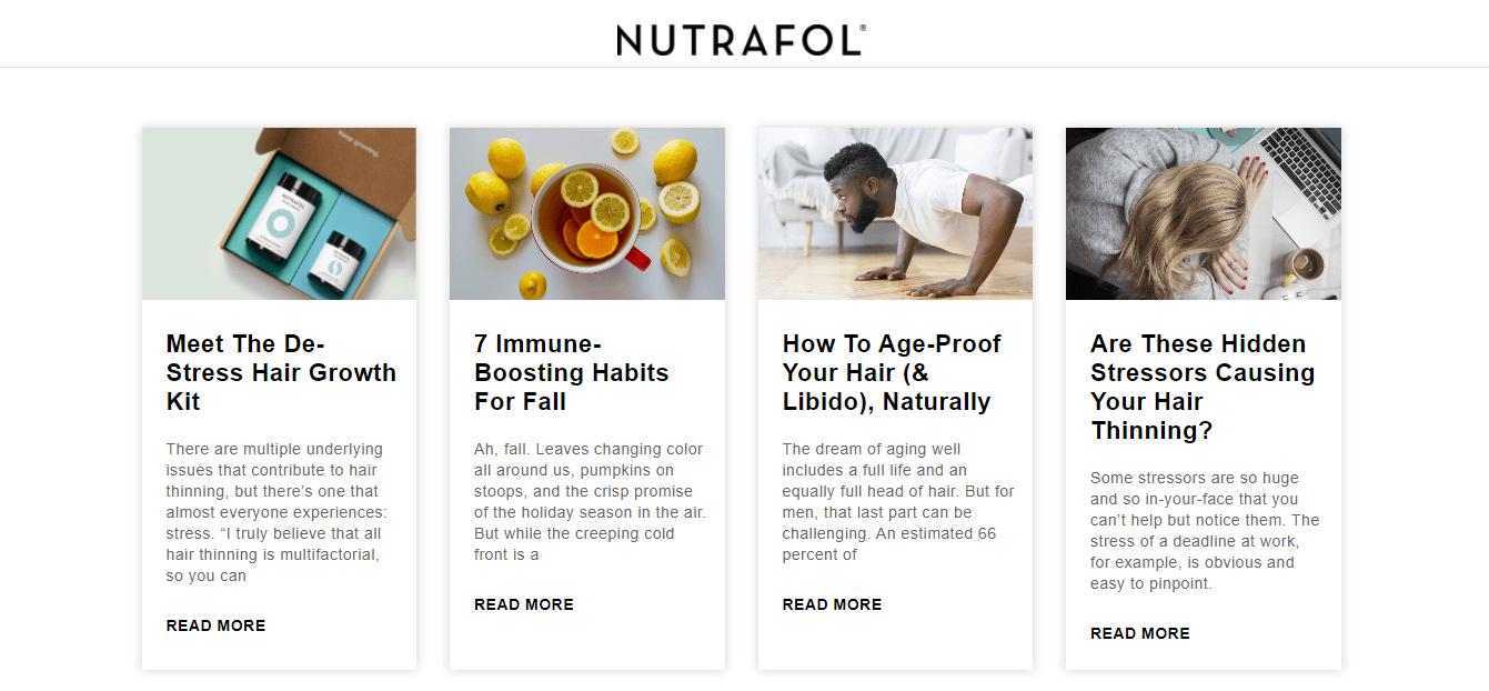 Nutrafol Blog