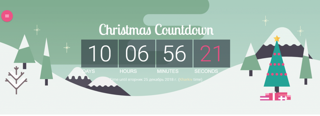Add a Christmas Countdown to Your Home Page on Magento 2