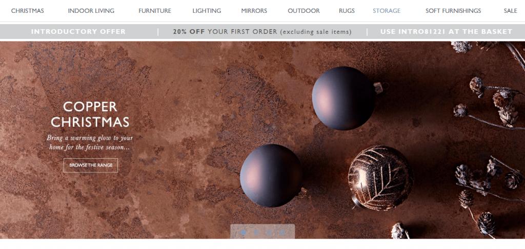 Hire a Magento 2 web designer to create a Christmas promo