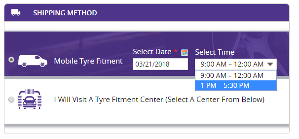 ability to select date and time on Magento store