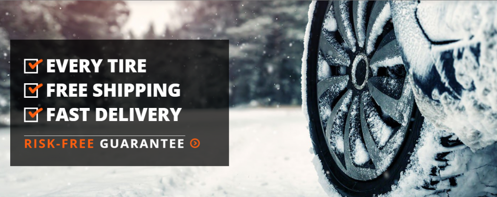 Tire homepage slider on Magento store