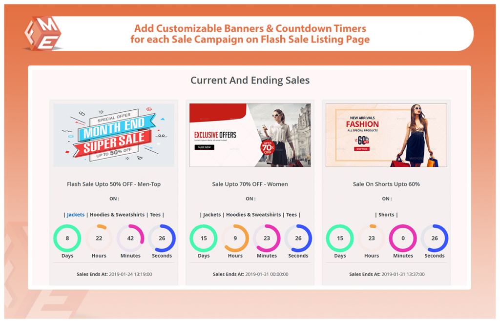 Flash Sales With Countdown Timer For Magento 2 by FME Extensions