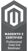 Magento 2 Certified Professional Front End Developer certification