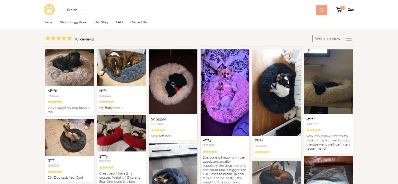 Loox Photo Reviews Shopify app
