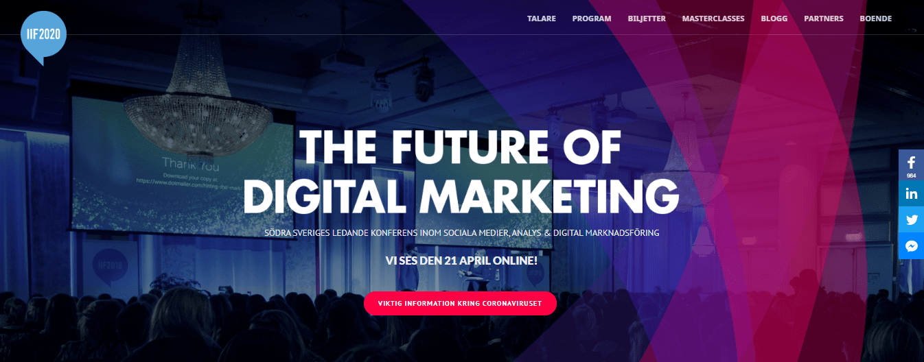 Internet in Focus conference on digital marketing