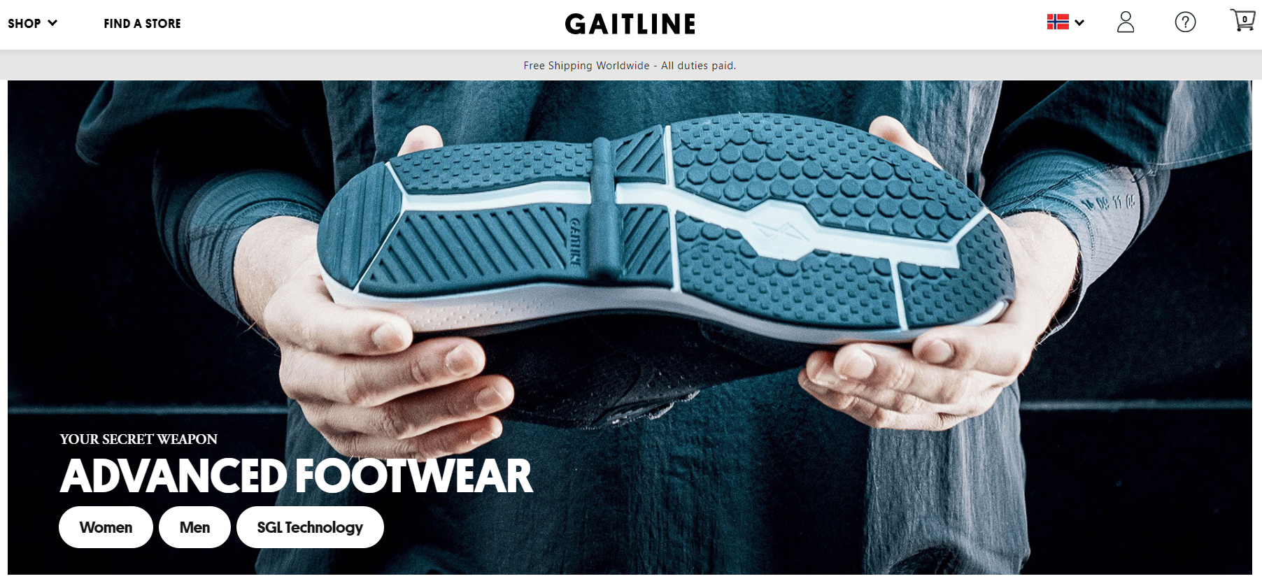 Gaitline responsive theme development