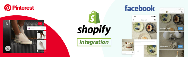 Shopify Integration with Pinterest & Facebook Shops