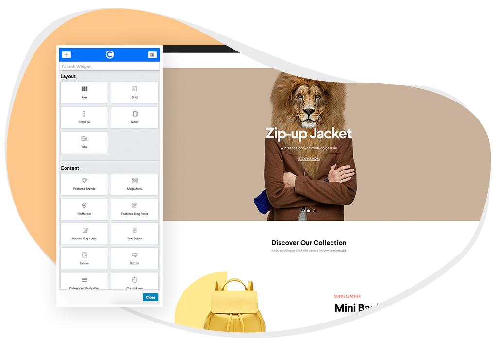 CleverBuilder design elements