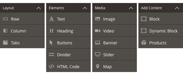 Page Builder Content Types